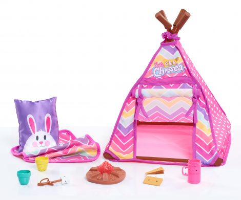 Barbie Club Chelsea Camping Set Just Play Toys For Kids