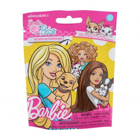 Barbie Pets Mini Collectible Figures Series 3 Just