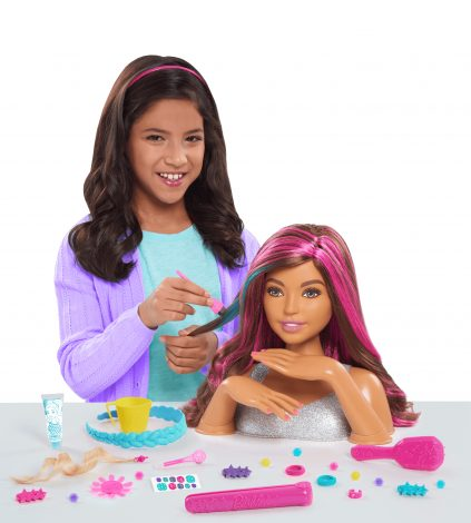 Barbie Color & Style Deluxe Styling Head - Brown Hair ... | 423 x 470 jpeg 27kB